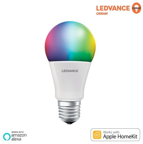 LED Крушка LEDVANCE SMART RGBW 10W E27 220V PARATHOM Amazon Alexa/Apple HomeKit