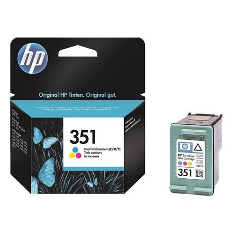 351 color HP CB337EE Оригинална касета мастилена глава (циан, магента, жълт)