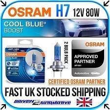 2 osram h7 cool blue boost 50. Black Bedroom Furniture Sets. Home Design Ideas