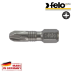 Битове FELO Torsion PZ2x25 C 6,3 /2бр. блистер/