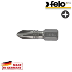 Битове FELO Torsion PH2x25 C 6,3 /2бр. блистер/