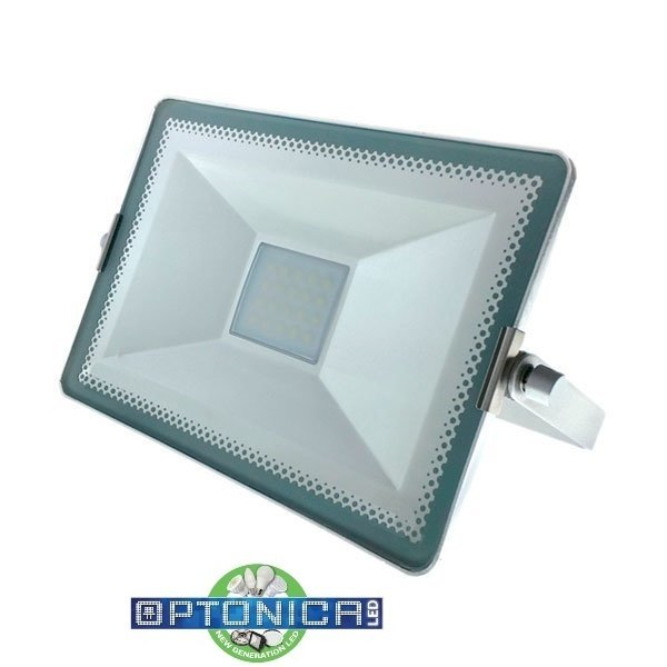50W LED Прожектор 3000K Сребрист SMD High Line Optonica